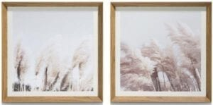 schilderij Pampas - set van 2 - 50 x 50 cm Coco Maison PAINTING Lowik Wonen & Slapen