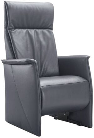 relaxfauteuil lerira met sta-op xl donker grijs Relaxfauteuil IN.HOUSE Fauteuils Lowik Meubelen