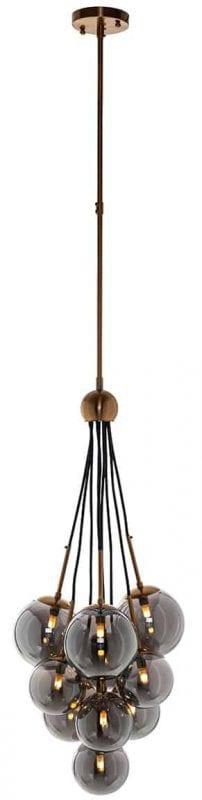 Hanglamp Beryl - Richmond Interiors - Hanglamp Beryl is de perfecte sfeermaker voor elke ruimte! De stijlvolle hanglamp is speels vanwege de verschillende hoogtes. - Löwik Wonen & Slapen Vriezenveen