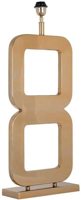 Tafellamp Annson gold (Goud) - Richmond Interiors - Tafellamp Annson gold is een gouden lamp in metropolitan luxury stijl. Leuk voor in de woonkamer of slaapkamer! Combineer met een lampenkap die past bij jouw stijl. - Löwik Wonen & Slapen Vriezenveen