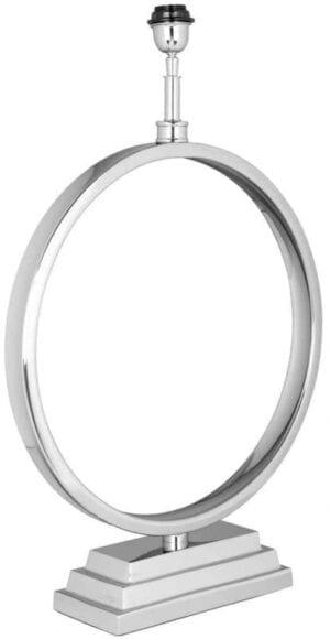 Tafellamp Dyon zilver (Zilver) - Richmond Interiors - Tafellamp Dyon zilver heeft een elegante, luxe uitstraling.