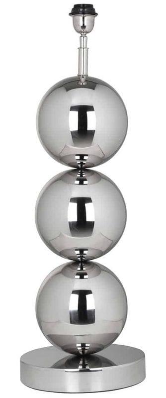 Tafellamp Jasey (Zilver) - Richmond Interiors - Tafellamp Jasey is een stijlvolle bollamp in Eric Kuster stijl. Deze zilveren tafellamp met bollen straalt elegante uit in elke ruimte! - Löwik Wonen & Slapen Vriezenveen