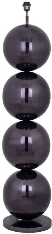 Vloerlamp Adney black nickel (Zwart) - Richmond Interiors - Vloerlamp Adney black nickel is een stijlvolle bollamp in Eric Kuster stijl. Deze zwarte vloerlamp met bollen straalt elegante uit in elke ruimte! - Löwik Wonen & Slapen Vriezenveen