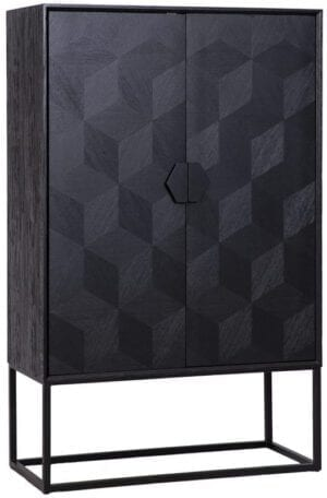 Wandkast Blax 2-deuren (Zwart) - Richmond Interiors -  - Löwik Wonen & Slapen Vriezenveen