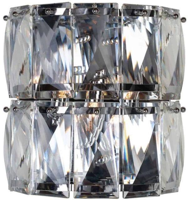 Wandlamp Auden (Zilver) - Richmond Interiors - Wandlamp Auden is een glimmende lamp met luxe uitstraling. Perfect voor in de hal! - Löwik Wonen & Slapen Vriezenveen
