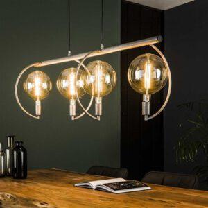Hanglamp 4L Chop XL Ø200 mm lichtbron / Oud zilver. Hanglamp uit de hanglampen collectie van Bullcraft kleinmeubelen & verlichting bij Löwik Meubelen