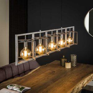 Hanglamp 5L giant tower / Oud zilver. Hanglamp uit de hanglampen collectie van Bullcraft kleinmeubelen & verlichting bij Löwik Meubelen