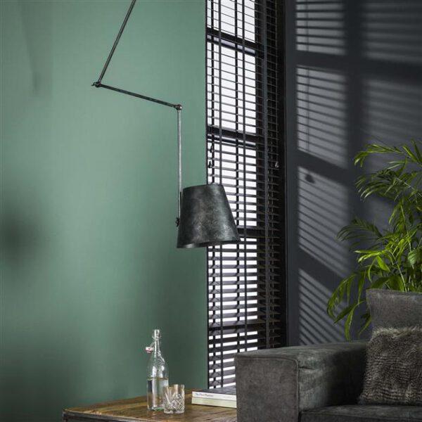 Hanglamp 1x Ø25 Kinetic / Charcoal. Hanglamp uit de hanglampen collectie van Bullcraft kleinmeubelen & verlichting bij Löwik Meubelen