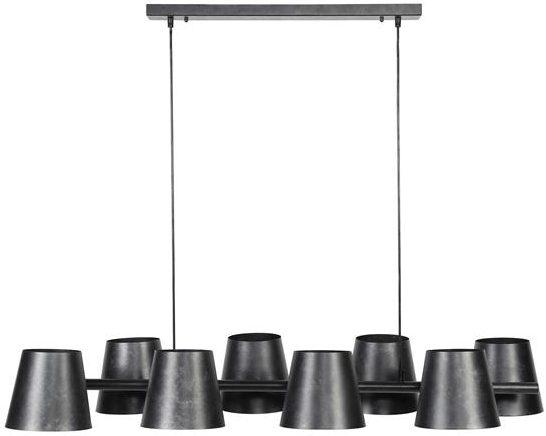 Hanglamp 8x  Ø18 Kinetic / Charcoal. Hanglamp uit de hanglampen collectie van Bullcraft kleinmeubelen & verlichting bij Löwik Meubelen