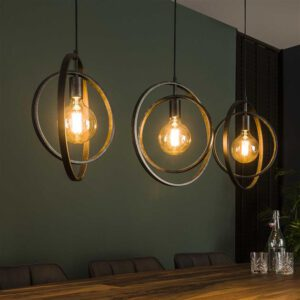 Hanglamp 3L Turn around / Charcoal. Hanglamp uit de hanglampen collectie van Bullcraft kleinmeubelen & verlichting bij Löwik Meubelen