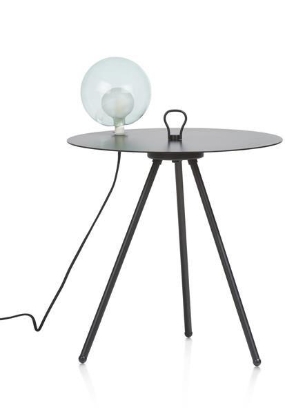 Larry wandtafel met LED 1-lamp Coco Maison SMALLFURN Lowik Wonen & Slapen