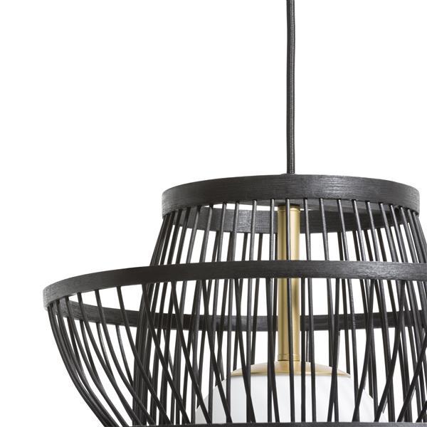 Bali, hanglamp - diameter 50 cm - zwart Coco Maison LIGHTING Lowik Wonen & Slapen
