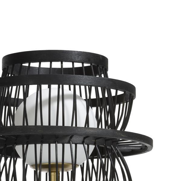 Bali, tafellamp - diameter 28 cm - zwart Coco Maison LIGHTING Lowik Wonen & Slapen