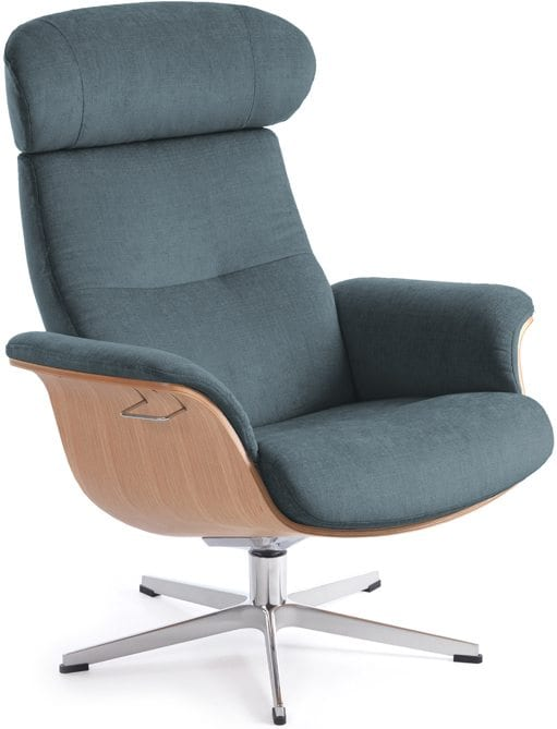 Time Out fauteuil - stof Evita petrol