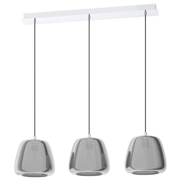 Albarino hanglamp uit de hanglampen collectie van Eglo, verlichting voor een sfeervol thuis! Schitterende lamp vervaardigd uit metaal, chroom van kleur en passend bij vele interieurstijlen. De hanglamp is voorzien van een E27 fitting. Hanglamp Albarino wordt geleverd exclusief lichtbron(nen).