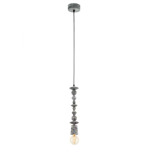 Avoltri hanglamp uit de hanglampen collectie van Eglo, verlichting voor een sfeervol thuis! Schitterende lamp vervaardigd uit hout, zwart-patina van kleur en passend bij vele interieurstijlen. De hanglamp is voorzien van een E27 fitting. Hanglamp Avoltri wordt geleverd exclusief lichtbron(nen).