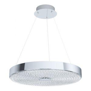 Escorihuel hanglamp uit de hanglampen collectie van Eglo, verlichting voor een sfeervol thuis! Schitterende lamp vervaardigd uit metaal, chroom van kleur en passend bij vele interieurstijlen. De hanglamp is voorzien van een LED fitting. Hanglamp Escorihuel wordt geleverd inclusief lichtbron(nen).