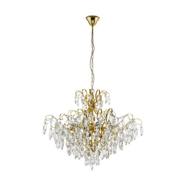 Fenoullet 1 hanglamp uit de hanglampen collectie van Eglo, verlichting voor een sfeervol thuis! Schitterende lamp vervaardigd uit metaal, geelkoper van kleur en passend bij vele interieurstijlen. De hanglamp is voorzien van een E14 fitting. Hanglamp Fenoullet 1 wordt geleverd exclusief lichtbron(nen).