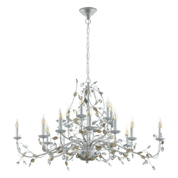 Flitwick 1 hanglamp uit de hanglampen collectie van Eglo, verlichting voor een sfeervol thuis! Schitterende lamp vervaardigd uit metaal, zilver van kleur en passend bij vele interieurstijlen. De hanglamp is voorzien van een E14 fitting. Hanglamp Flitwick 1 wordt geleverd exclusief lichtbron(nen).