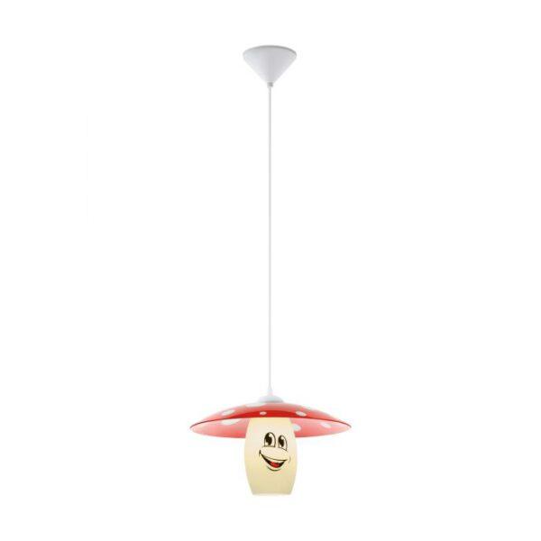 Funji hanglamp uit de hanglampen collectie van Eglo, verlichting voor een sfeervol thuis! Schitterende lamp vervaardigd uit kunststof, wit van kleur en passend bij vele interieurstijlen. De hanglamp is voorzien van een E27 fitting. Hanglamp Funji wordt geleverd exclusief lichtbron(nen).