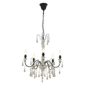 Hanglamp hanglamp uit de hanglampen collectie van Eglo, verlichting voor een sfeervol thuis! Schitterende lamp vervaardigd uit metaal, - van kleur en passend bij vele interieurstijlen. De hanglamp is voorzien van een E14 fitting. Hanglamp Hanglamp wordt geleverd exclusief lichtbron(nen).