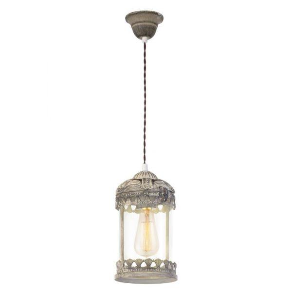 Langham hanglamp uit de hanglampen collectie van Eglo, verlichting voor een sfeervol thuis! Schitterende lamp vervaardigd uit metaal, bruin-patina van kleur en passend bij vele interieurstijlen. De hanglamp is voorzien van een E27 fitting. Hanglamp Langham wordt geleverd exclusief lichtbron(nen).