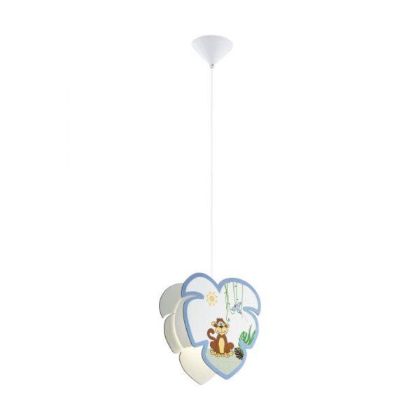 Louie hanglamp uit de hanglampen collectie van Eglo, verlichting voor een sfeervol thuis! Schitterende lamp vervaardigd uit kunststof, wit van kleur en passend bij vele interieurstijlen. De hanglamp is voorzien van een E27 fitting. Hanglamp Louie wordt geleverd exclusief lichtbron(nen).