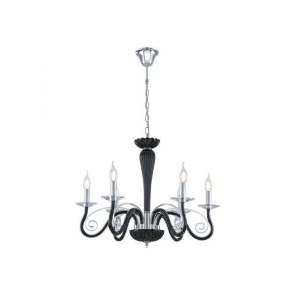 Meduno hanglamp uit de hanglampen collectie van Eglo, verlichting voor een sfeervol thuis! Schitterende lamp vervaardigd uit metaal, chroom van kleur en passend bij vele interieurstijlen. De hanglamp is voorzien van een E14 fitting. Hanglamp Meduno wordt geleverd exclusief lichtbron(nen).