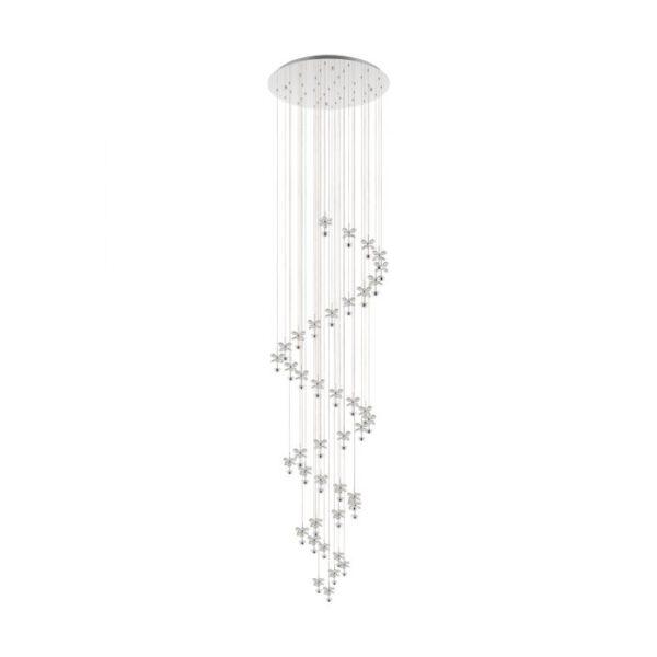 Pianopoli 1 hanglamp uit de hanglampen collectie van Eglo, verlichting voor een sfeervol thuis! Schitterende lamp vervaardigd uit metaal, chroom van kleur en passend bij vele interieurstijlen. De hanglamp is voorzien van een LED fitting. Hanglamp Pianopoli 1 wordt geleverd inclusief lichtbron(nen).