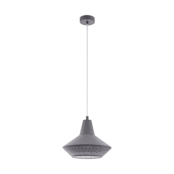 Piondro hanglamp uit de hanglampen collectie van Eglo, verlichting voor een sfeervol thuis! Schitterende lamp vervaardigd uit metaal, grijs van kleur en passend bij vele interieurstijlen. De hanglamp is voorzien van een E27 fitting. Hanglamp Piondro wordt geleverd exclusief lichtbron(nen).