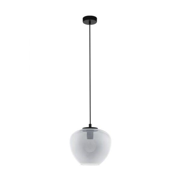Priorat hanglamp uit de hanglampen collectie van Eglo, verlichting voor een sfeervol thuis! Schitterende lamp vervaardigd uit metaal, zwart van kleur en passend bij vele interieurstijlen. De hanglamp is voorzien van een E27 fitting. Hanglamp Priorat wordt geleverd exclusief lichtbron(nen).