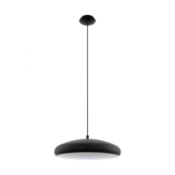 Riodeva-C hanglamp uit de hanglampen collectie van Eglo, verlichting voor een sfeervol thuis! Schitterende lamp vervaardigd uit metaal, zwart van kleur en passend bij vele interieurstijlen. De hanglamp is voorzien van een LED fitting. Hanglamp Riodeva-C wordt geleverd inclusief lichtbron(nen).