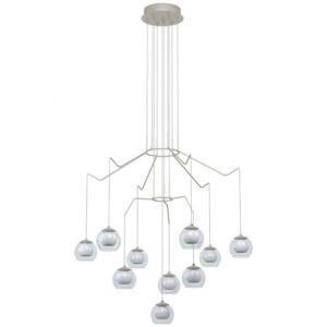 Rovigana hanglamp uit de hanglampen collectie van Eglo, verlichting voor een sfeervol thuis! Schitterende lamp vervaardigd uit metaal, champagne van kleur en passend bij vele interieurstijlen. De hanglamp is voorzien van een LED fitting. Hanglamp Rovigana wordt geleverd inclusief lichtbron(nen).