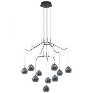 Rovigana hanglamp uit de hanglampen collectie van Eglo, verlichting voor een sfeervol thuis! Schitterende lamp vervaardigd uit metaal, zwart van kleur en passend bij vele interieurstijlen. De hanglamp is voorzien van een LED fitting. Hanglamp Rovigana wordt geleverd inclusief lichtbron(nen).
