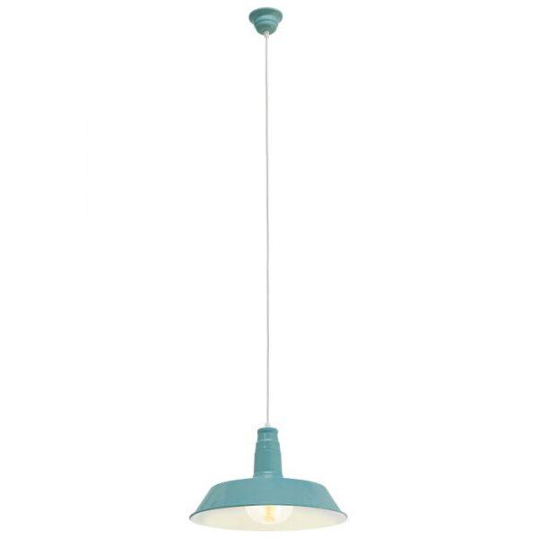 Somerton 1 hanglamp uit de hanglampen collectie van Eglo, verlichting voor een sfeervol thuis! Schitterende lamp vervaardigd uit metaal, munt van kleur en passend bij vele interieurstijlen. De hanglamp is voorzien van een E27 fitting. Hanglamp Somerton 1 wordt geleverd exclusief lichtbron(nen).