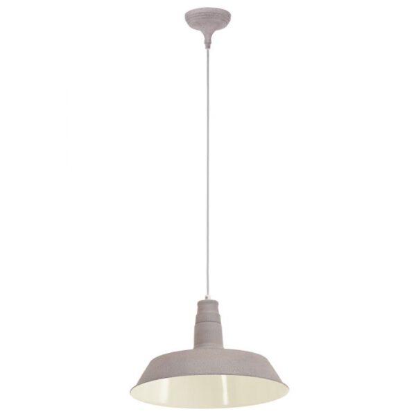 Somerton 1 hanglamp uit de hanglampen collectie van Eglo, verlichting voor een sfeervol thuis! Schitterende lamp vervaardigd uit metaal, taupe-structuur van kleur en passend bij vele interieurstijlen. De hanglamp is voorzien van een E27 fitting. Hanglamp Somerton 1 wordt geleverd exclusief lichtbron(nen).