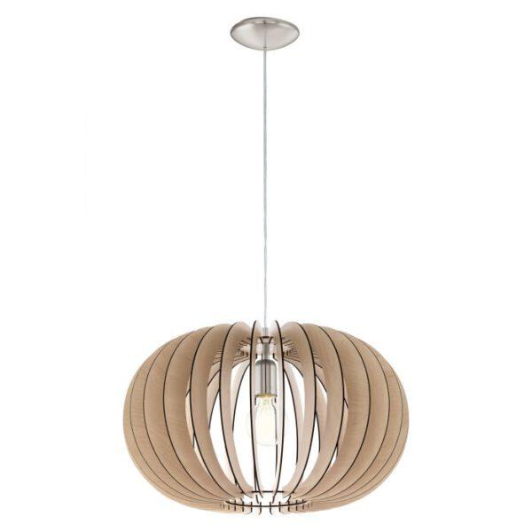 Stellato hanglamp uit de hanglampen collectie van Eglo, verlichting voor een sfeervol thuis! Schitterende lamp vervaardigd uit metaal, nikkel-mat van kleur en passend bij vele interieurstijlen. De hanglamp is voorzien van een E27 fitting. Hanglamp Stellato wordt geleverd exclusief lichtbron(nen).