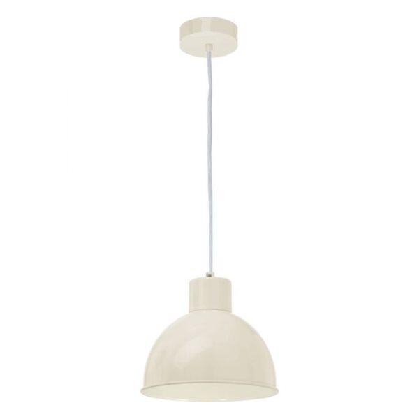 Truro 1 hanglamp uit de hanglampen collectie van Eglo, verlichting voor een sfeervol thuis! Schitterende lamp vervaardigd uit metaal, zandkleuren van kleur en passend bij vele interieurstijlen. De hanglamp is voorzien van een E27 fitting. Hanglamp Truro 1 wordt geleverd exclusief lichtbron(nen).