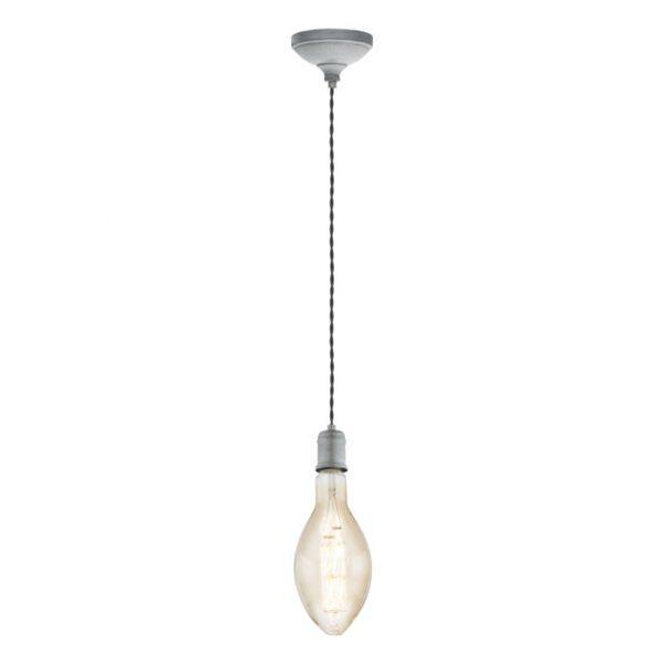 Yorth hanglamp uit de hanglampen collectie van Eglo, verlichting voor een sfeervol thuis! Schitterende lamp vervaardigd uit metaal, zilver-antiek van kleur en passend bij vele interieurstijlen. De hanglamp is voorzien van een E27 fitting. Hanglamp Yorth wordt geleverd exclusief lichtbron(nen).