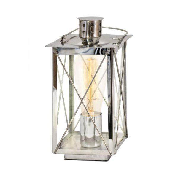 Donmington tafellamp uit de tafellampen collectie van Eglo, verlichting voor een sfeervol thuis! Schitterende lamp vervaardigd uit metaal, chroom van kleur en passend bij vele interieurstijlen. De tafellamp is voorzien van een E27 fitting. Tafellamp Donmington wordt geleverd exclusief lichtbron(nen).
