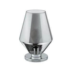 Murmillo tafellamp uit de tafellampen collectie van Eglo, verlichting voor een sfeervol thuis! Schitterende lamp vervaardigd uit metaal, chroom van kleur en passend bij vele interieurstijlen. De tafellamp is voorzien van een E27 fitting. Tafellamp Murmillo wordt geleverd exclusief lichtbron(nen).