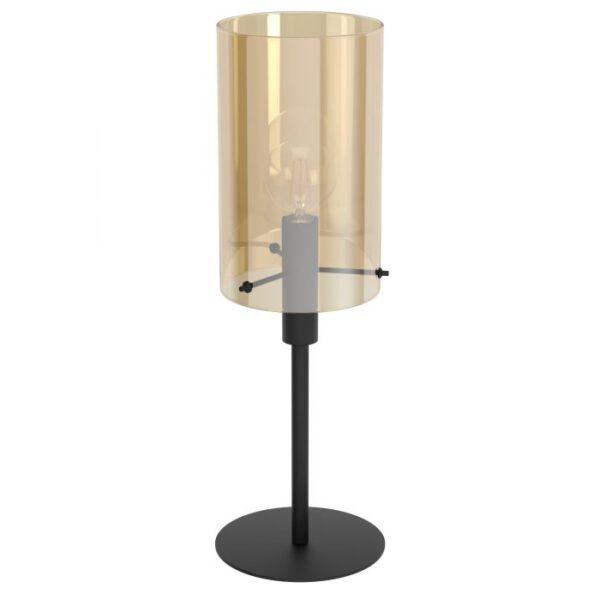 Polverara tafellamp uit de tafellampen collectie van Eglo, verlichting voor een sfeervol thuis! Schitterende lamp vervaardigd uit metaal, zwart van kleur en passend bij vele interieurstijlen. De tafellamp is voorzien van een E27 fitting. Tafellamp Polverara wordt geleverd exclusief lichtbron(nen).