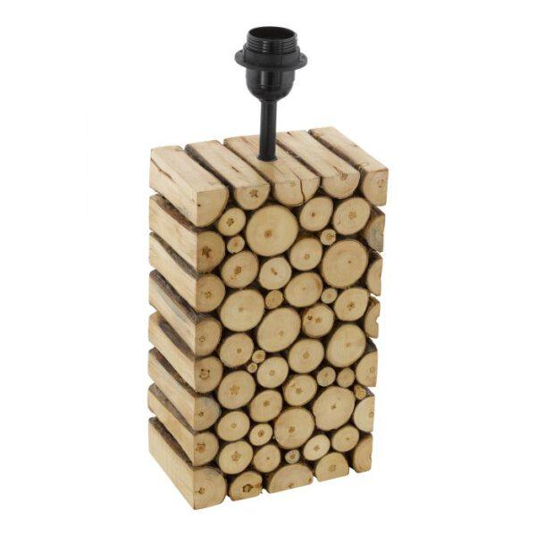 Ribadeo tafellamp uit de tafellampen collectie van Eglo, verlichting voor een sfeervol thuis! Schitterende lamp vervaardigd uit hout, bruin van kleur en passend bij vele interieurstijlen. De tafellamp is voorzien van een E27 fitting. Tafellamp Ribadeo wordt geleverd exclusief lichtbron(nen).