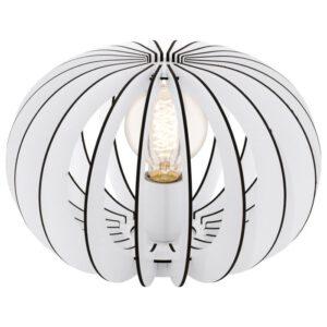 Stellato tafellamp uit de tafellampen collectie van Eglo, verlichting voor een sfeervol thuis! Schitterende lamp vervaardigd uit metaal, wit van kleur en passend bij vele interieurstijlen. De tafellamp is voorzien van een E27 fitting. Tafellamp Stellato wordt geleverd exclusief lichtbron(nen).