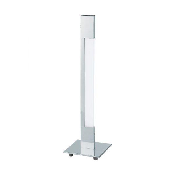 Tarandell tafellamp uit de tafellampen collectie van Eglo, verlichting voor een sfeervol thuis! Schitterende lamp vervaardigd uit aluminium, chroom van kleur en passend bij vele interieurstijlen. De tafellamp is voorzien van een LED fitting. Tafellamp Tarandell wordt geleverd inclusief lichtbron(nen).