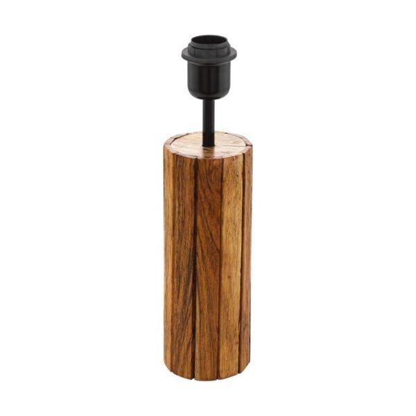 Thornhill tafellamp uit de tafellampen collectie van Eglo, verlichting voor een sfeervol thuis! Schitterende lamp vervaardigd uit hout, nruin, zwart van kleur en passend bij vele interieurstijlen. De tafellamp is voorzien van een E27 fitting. Tafellamp Thornhill wordt geleverd exclusief lichtbron(nen).