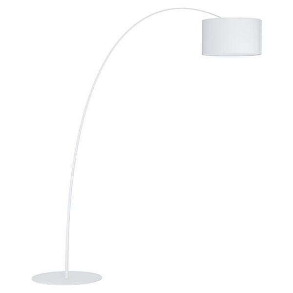 Lesquerde vloerlamp uit de vloerlampen collectie van Eglo, verlichting voor een sfeervol thuis! Schitterende lamp vervaardigd uit metaal, wit van kleur en passend bij vele interieurstijlen. De vloerlamp is voorzien van een E27 fitting. Vloerlamp Lesquerde wordt geleverd exclusief lichtbron(nen).