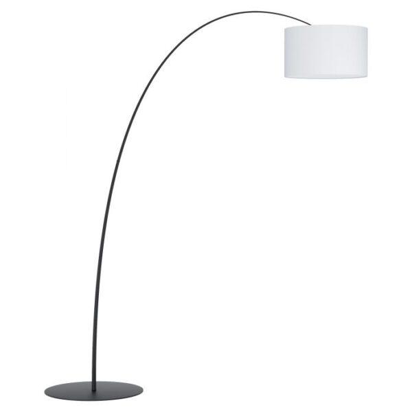 Lesquerde vloerlamp uit de vloerlampen collectie van Eglo, verlichting voor een sfeervol thuis! Schitterende lamp vervaardigd uit metaal, zwart van kleur en passend bij vele interieurstijlen. De vloerlamp is voorzien van een E27 fitting. Vloerlamp Lesquerde wordt geleverd exclusief lichtbron(nen).