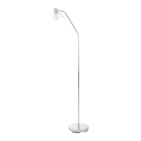 Prince 3 vloerlamp uit de vloerlampen collectie van Eglo, verlichting voor een sfeervol thuis! Schitterende lamp vervaardigd uit metaal, chroom van kleur en passend bij vele interieurstijlen. De vloerlamp is voorzien van een E14-LED-P45 fitting. Vloerlamp Prince 3 wordt geleverd inclusief lichtbron(nen).