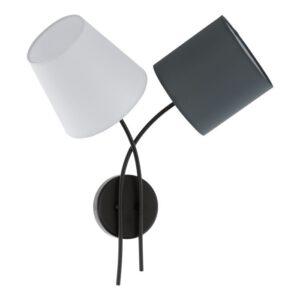 Almeida wandlamp uit de wandlampen collectie van Eglo, verlichting voor een sfeervol thuis! Schitterende lamp vervaardigd uit metaal, zwart van kleur en passend bij vele interieurstijlen. De wandlamp is voorzien van een E14 fitting. Wandlamp Almeida wordt geleverd exclusief lichtbron(nen).